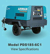 Where to rent COMPRESSOR, 185 CFM INVENTORY in Palm Springs, Palm Desert, Yucca Valley CA, San Berdardino, Indio CA